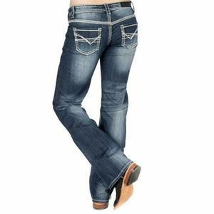Rock & Roll Cowgirl Riding Bootcut jeans 29X34